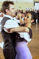 Steve Bell and Anne Marie Fournier, Competition Tango